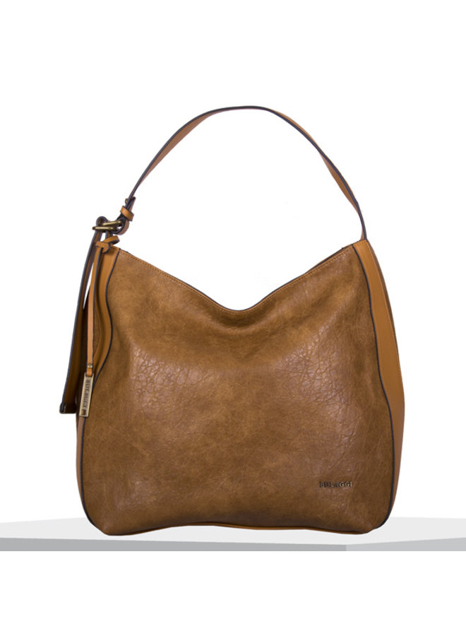 Hobo shoulder bag Heather (cognac)