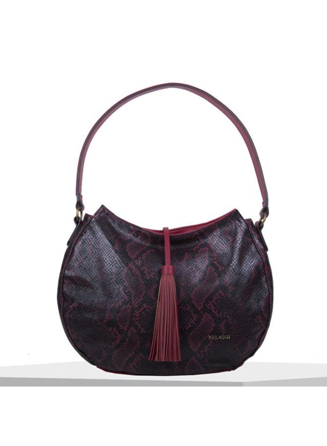 Hobo shoulder bag Quince (red)