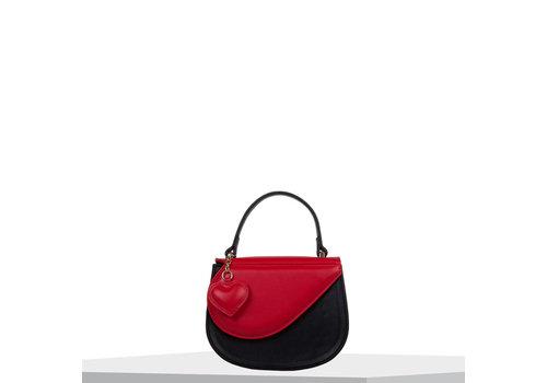 Crossbody tas Heart (zwart)