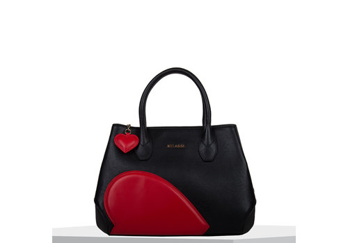 Handbag Heart (black)