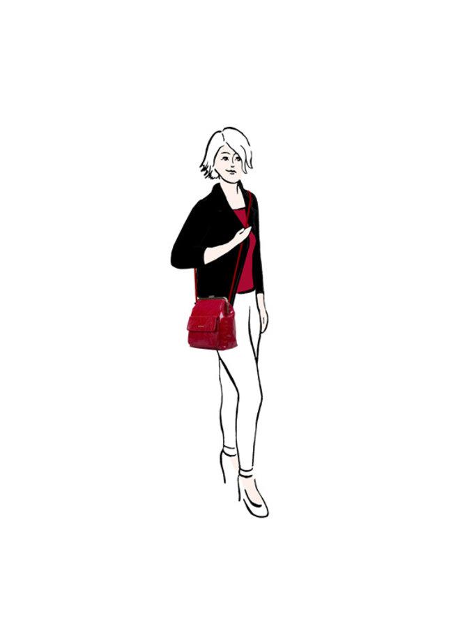 Crossbody tas Valentine (rood)