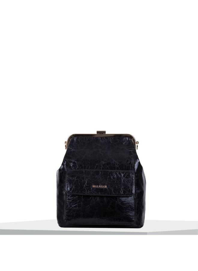 Crossbody bag Valentine (black)