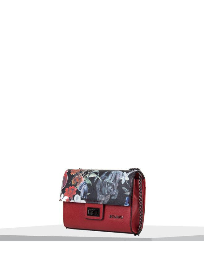 Crossbody bag Tulip (red)