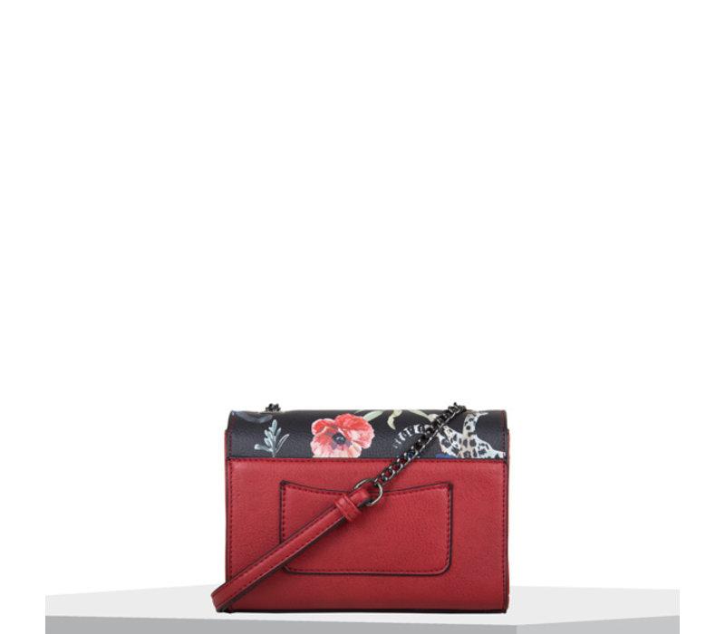 Crossbody tas Tulip (rood)