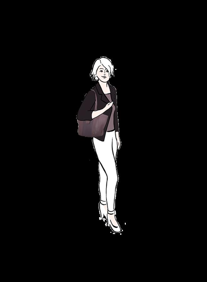 Shopper Delphinium (lila)