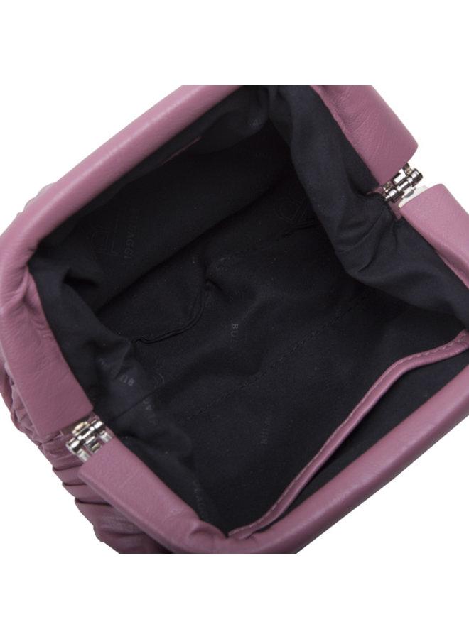 Crossbody tas Pleaty (oud roze)
