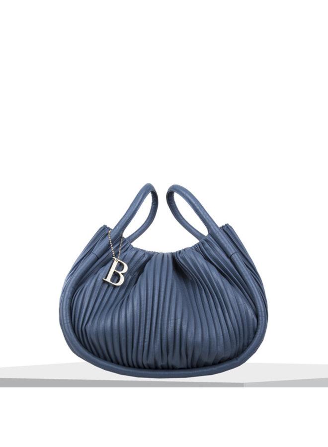 Handbag Pleaty (denim blue)
