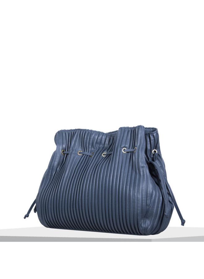 Crossbody tas Pleaty (denim blauw)