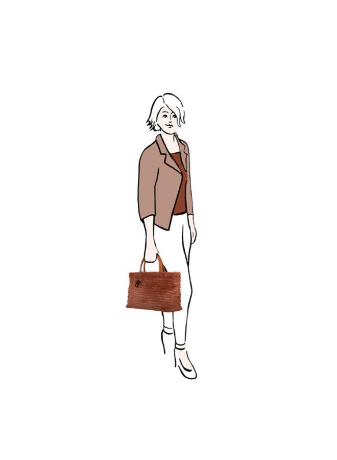 Shopper Ginger (roest)