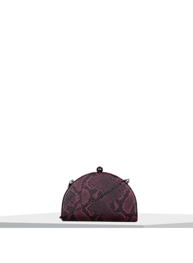 Clutch bag Quince (red)