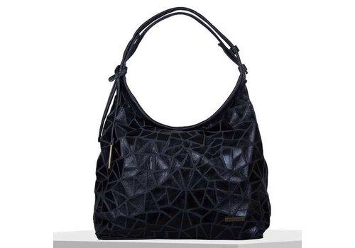 Hobo shoulder bag Cracky (black)