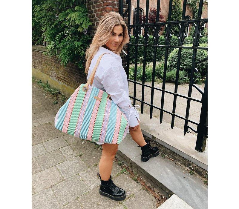 Shopping bag Sunny (mint)