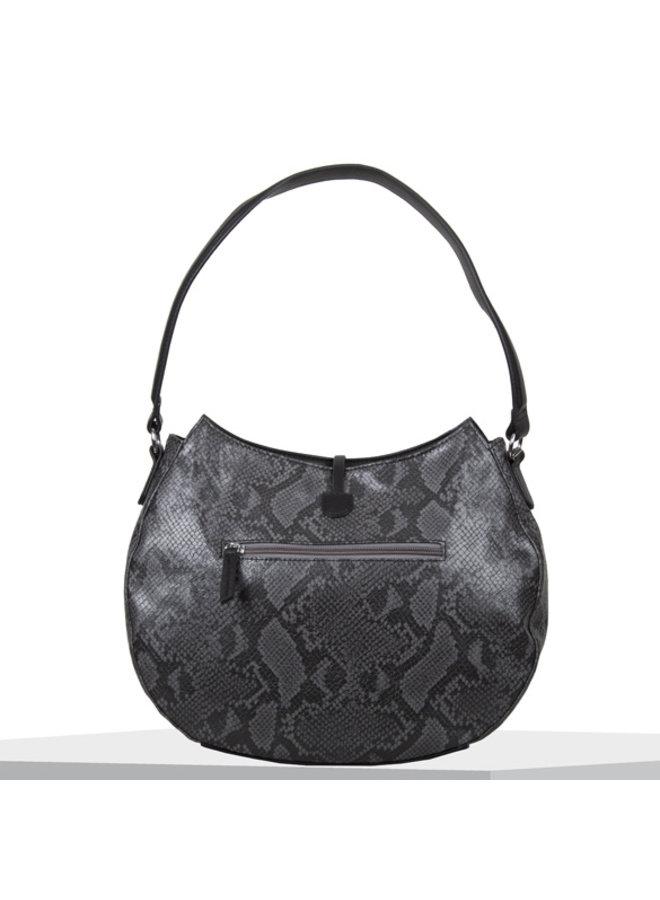 Hobo shoulder bag Quince (black)