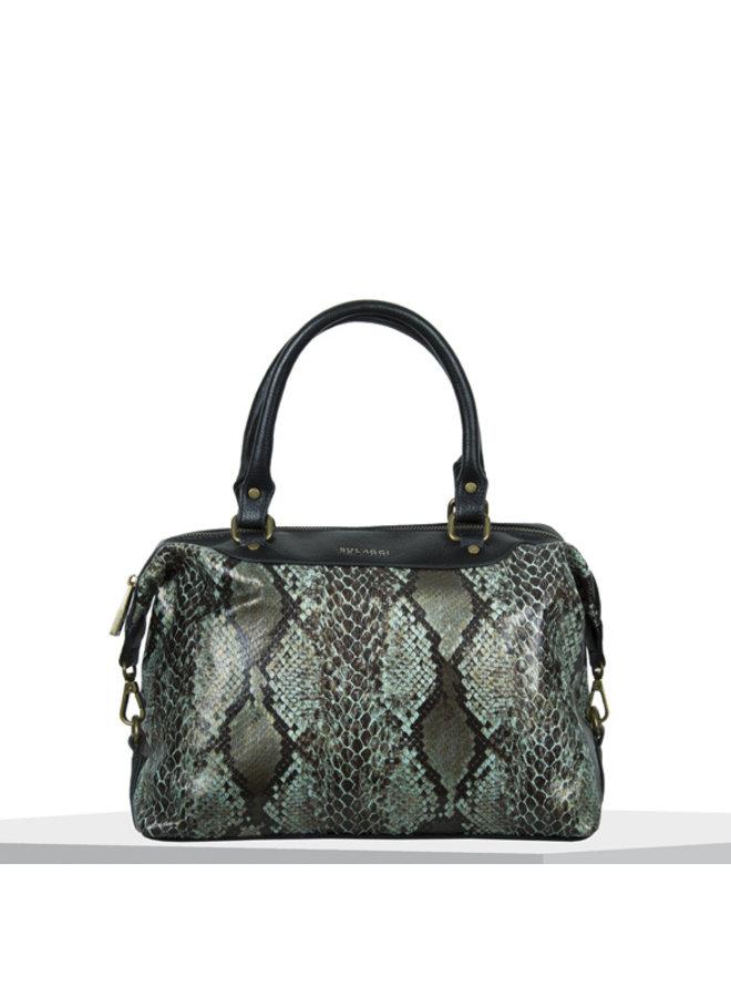 Handbag Protea (emerald green)