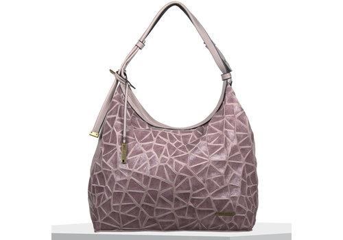 Hobo shoulder bag Cracky (lilac)