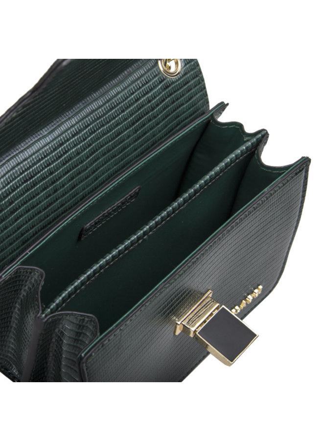 Crossbody bag Liatris (emerald green)