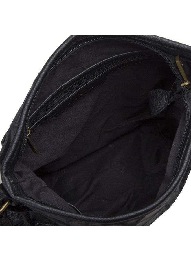Crossbody tas Cracky (zwart)