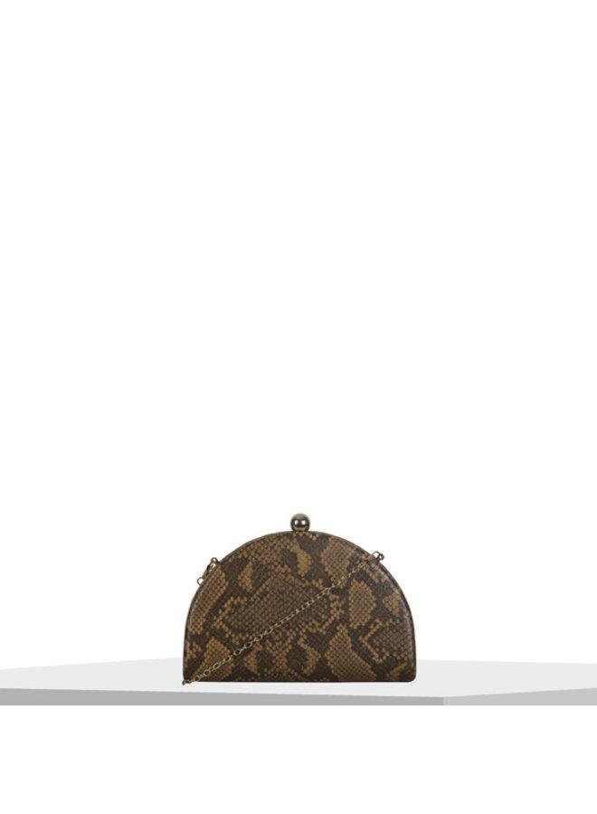 Clutch bag Quince (camel)