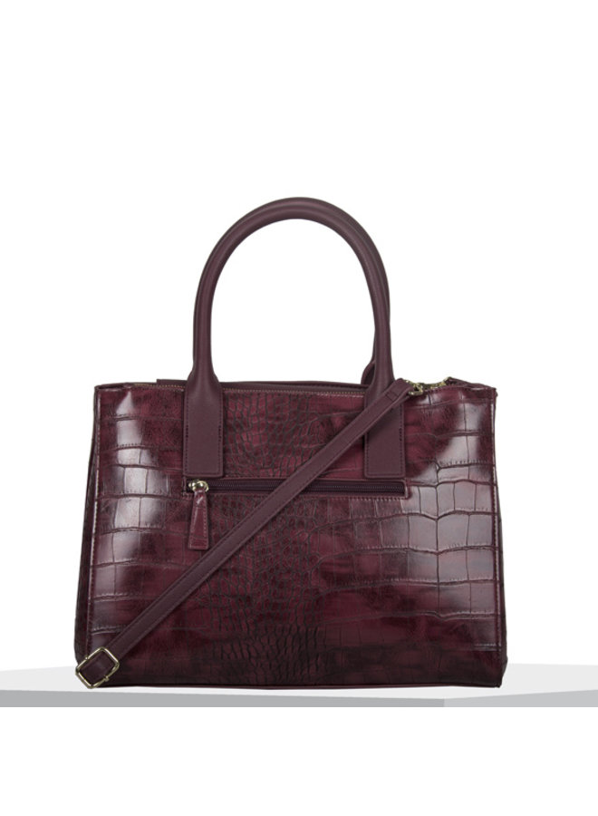 Shopping Iris (burgundy)