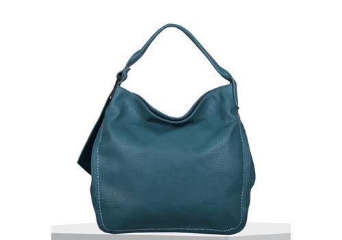 Hobo shoulder bag Deb (emerald green)