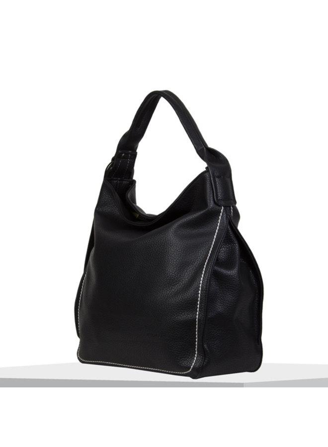 Hobo shoulder bag Deb (black)