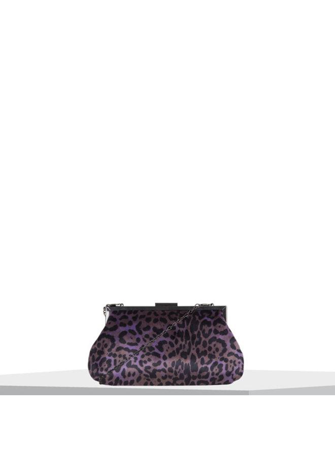 Clutch bag Paw (lilac)
