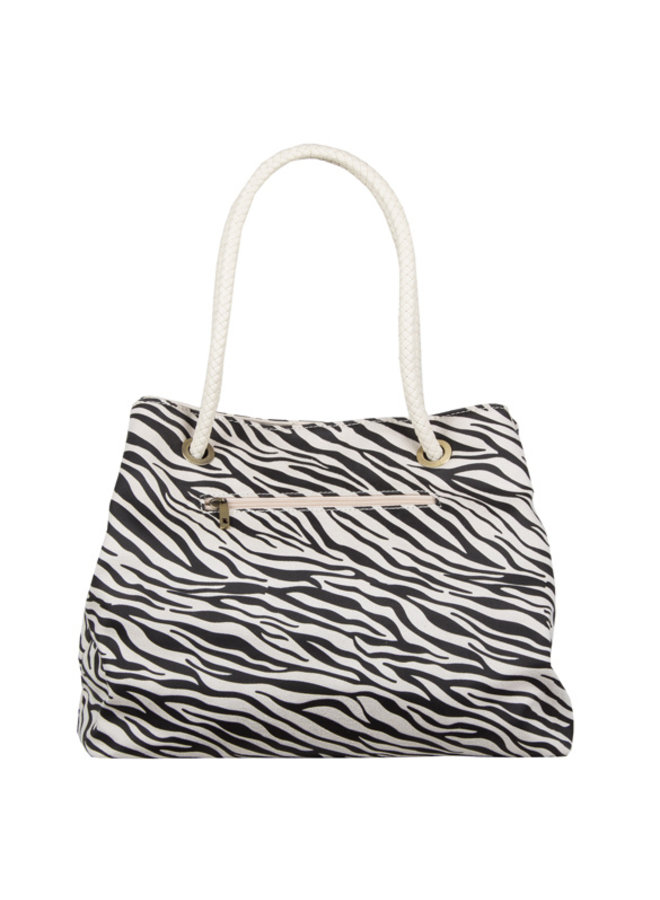 Shopper Zebra (creme)