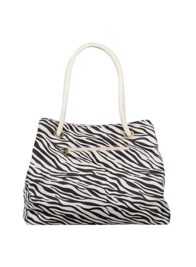 Shopping bag Zebra (bone)