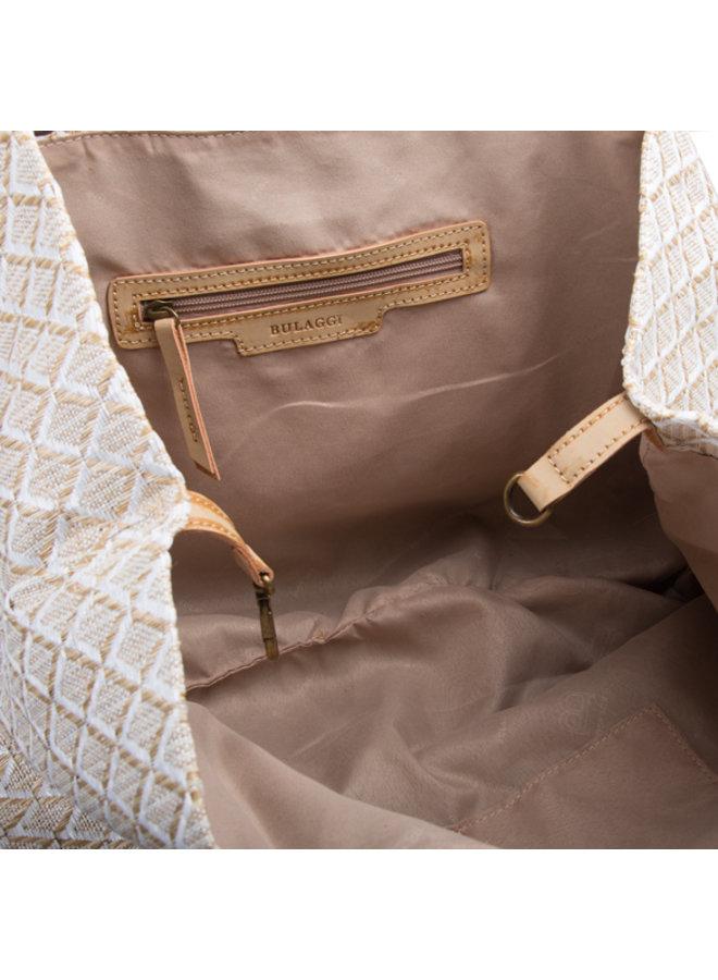Shopping bag Sunny (white)