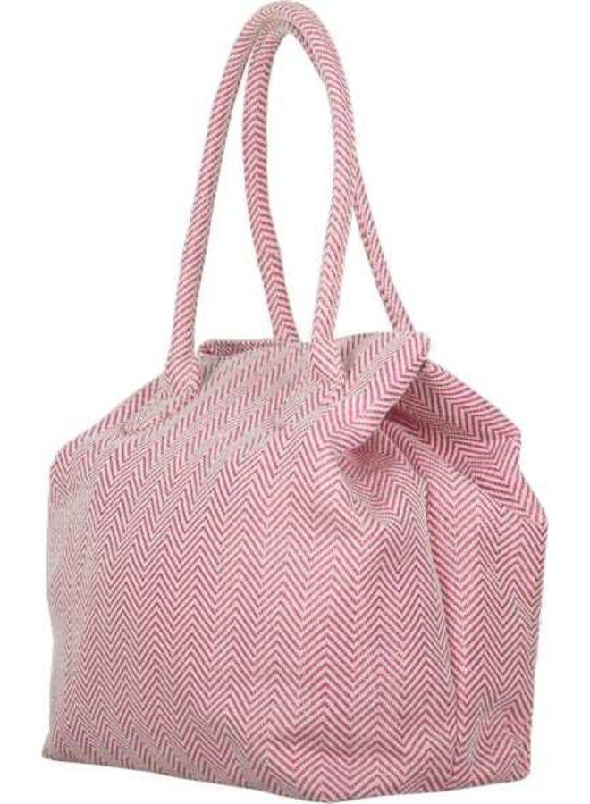 Shopping bag Juniper (pink)