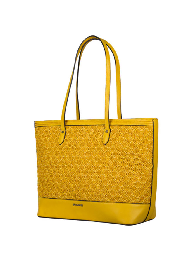 Shopping bag Atomic (yellow)