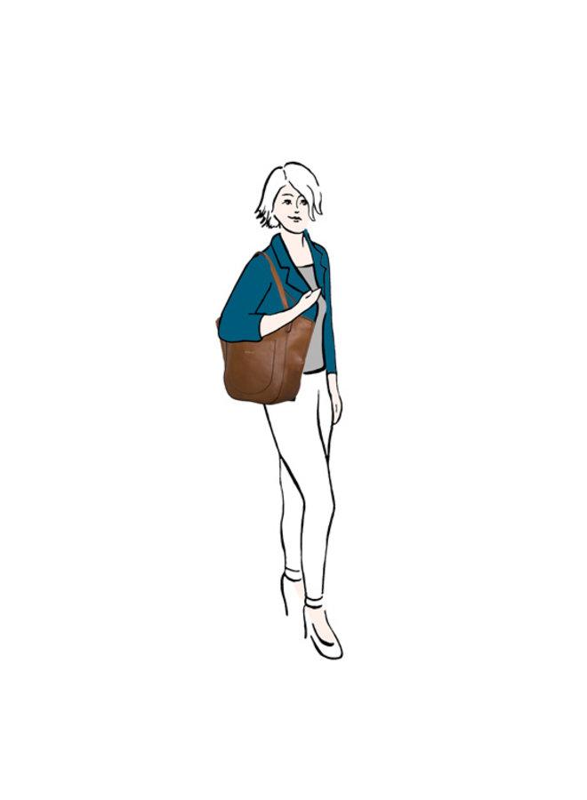 Shopping bag Acorn (black)