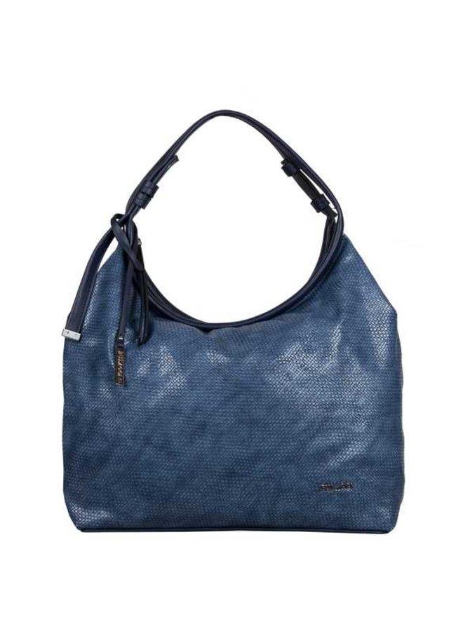 Hobo shoulderbag Mila (blue)