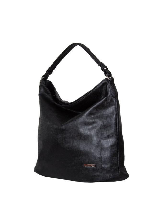 Hobo shoulderbag Gauze (black)
