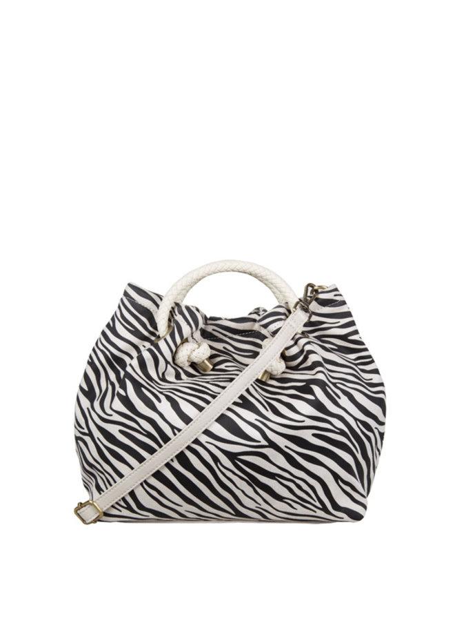 Handbag Zebra (bone)