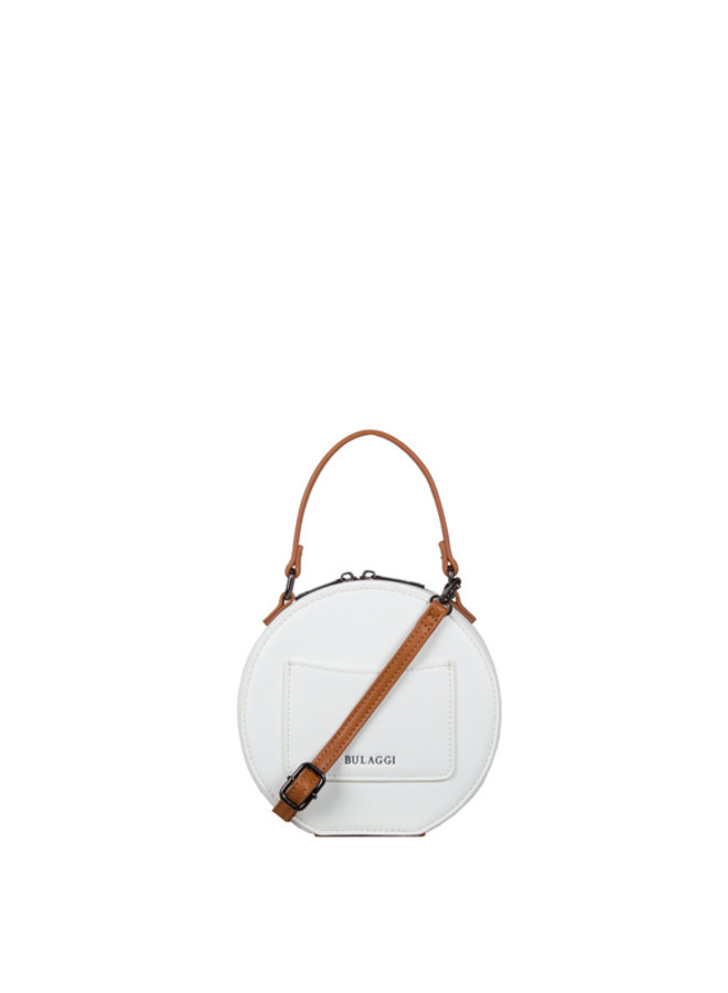 Crossbody bag Embroidery (white)