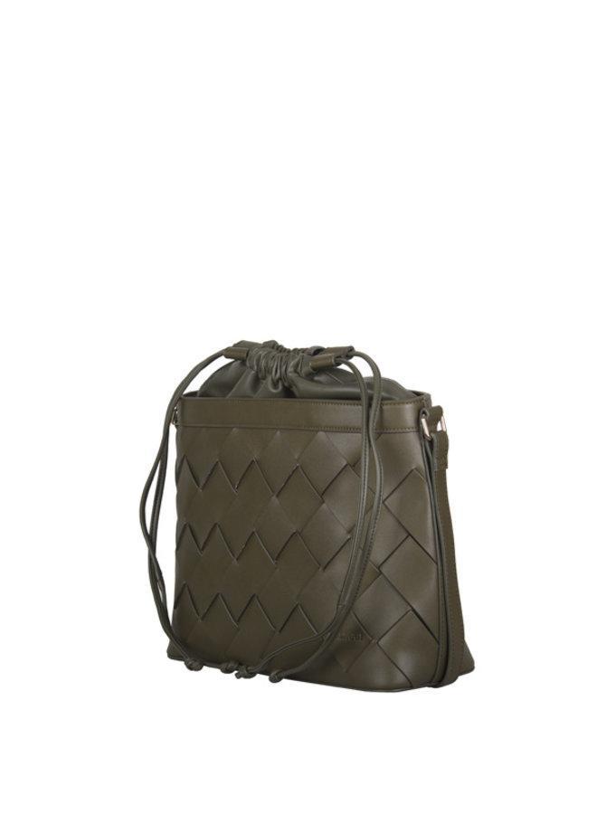 Crossbody bag Block (khaki green)