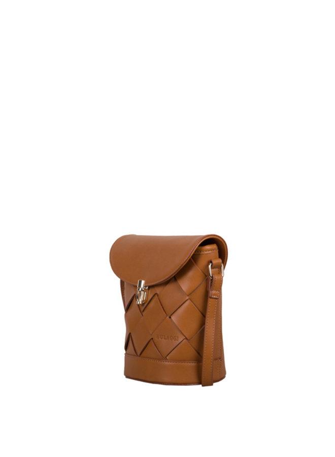 Crossbody bag Block (cognac)