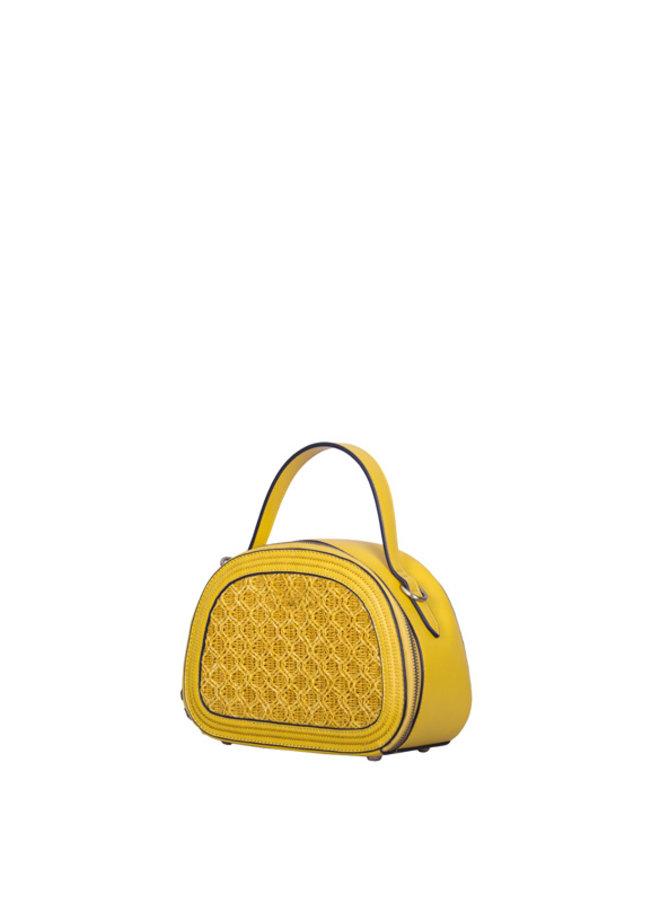 Crossbody bag Atomic (yellow)