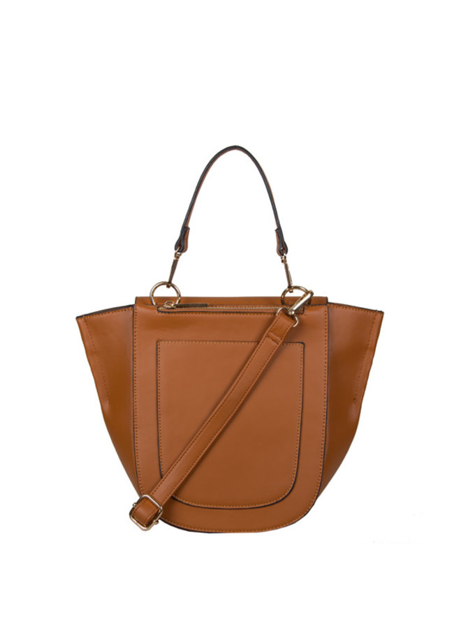 Crossbody bag Acorn (cognac)