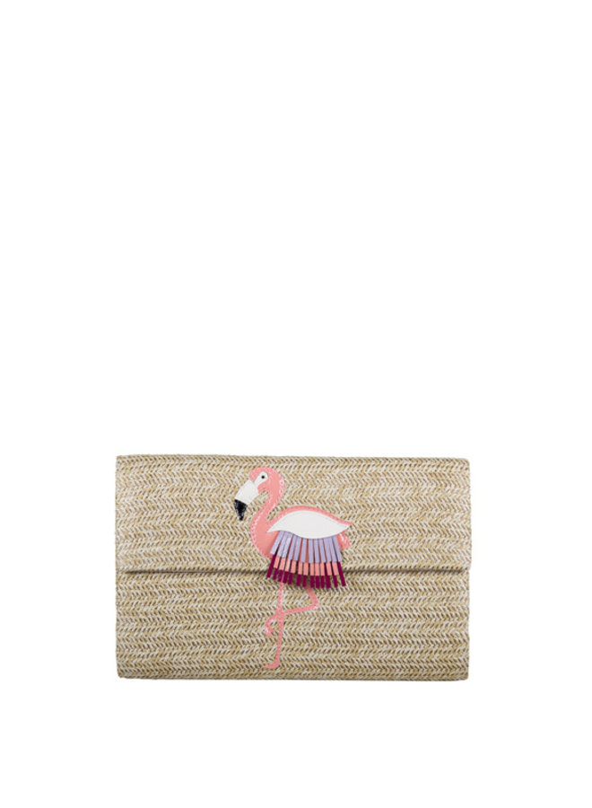 Clutch Flamingo (naturel)
