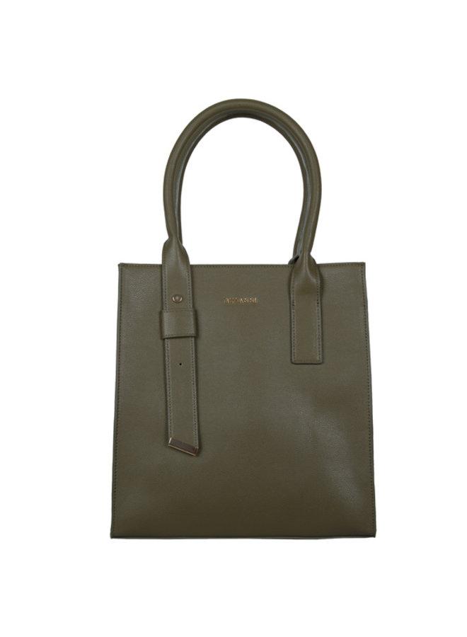 Shopping bag Basalt (khaki green)