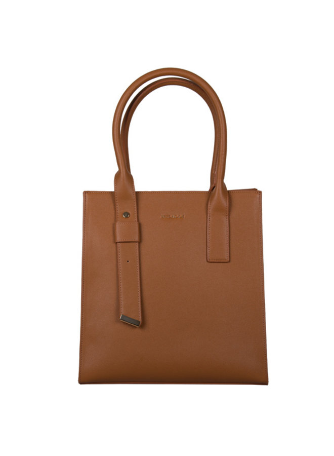 Shopping bag Basalt (cognac)