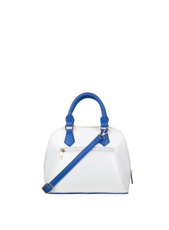 Handtas (teacosy) Zigzag (kobaltblauw)