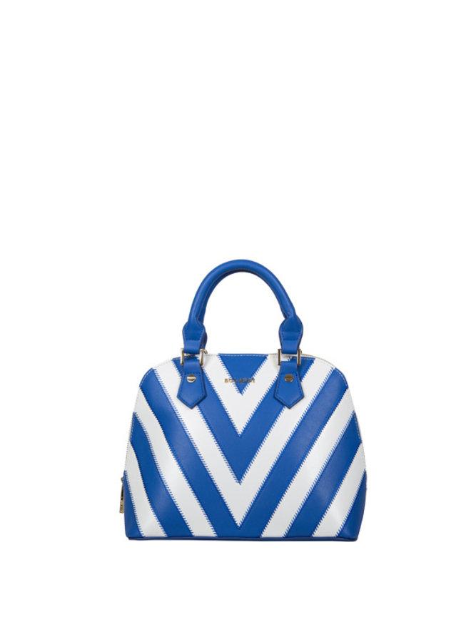 Handbag (teacosy) Zigzag (cobalt blue)