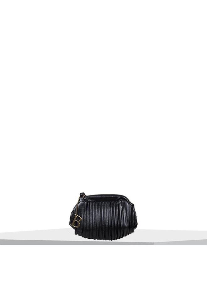 Crossbody tas Pleaty (zwart)