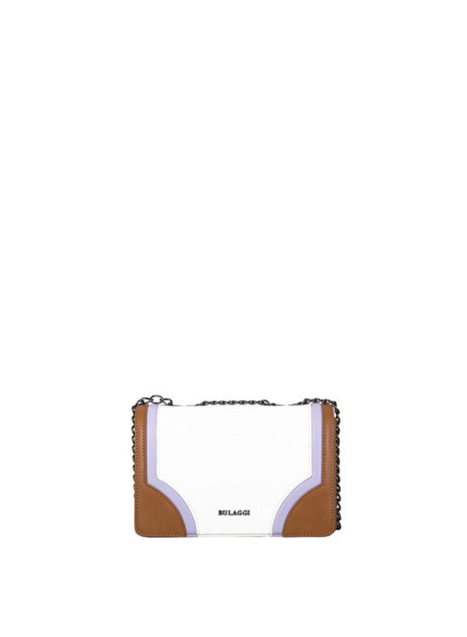 Crossbody bag Sharkskin (white)