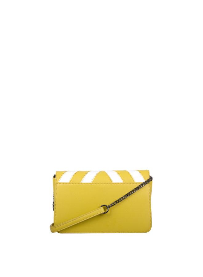 Crossbody bag Zigzag (yellow)