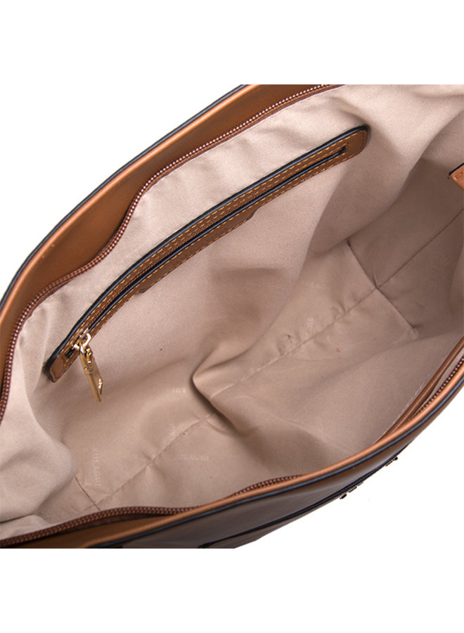 Shopping bag Acorn (cognac)