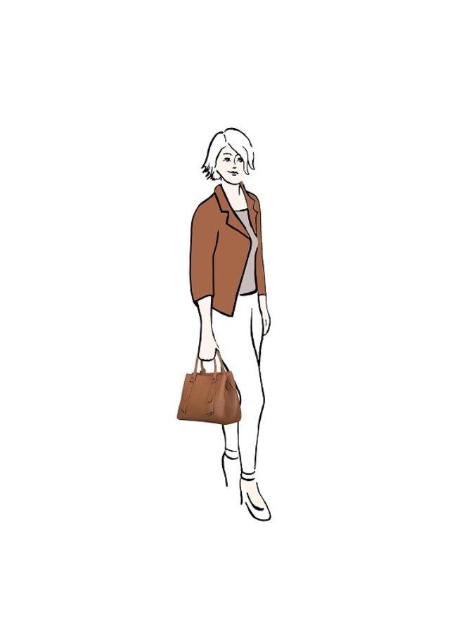 Shopper Basalt (cognac)